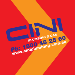 Cini Plumbing Logo Square